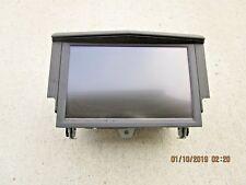 08-11 CADILLAC CTS DASH GPS MAP NAVIGATION UNIT DISPLAY LCD SCREEN P/N 25886537