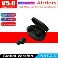 For Xiaomi Redmi TWS Airdots Headset Bluetooth 5.0 Headphone Stereo Earbuds Bs