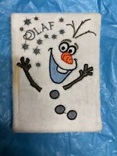 Frozen Olaf Notebook RRP £8 Each - School - SRV Hub® - Brand New See Pic