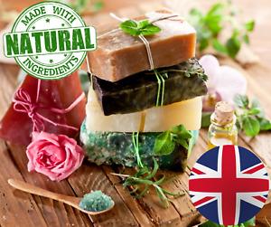 SOAP BARS NATURAL VEGAN🌿OLIVE OIL HANDMADE GIFT🌿LAVENDER COCONUT LEMON ALOE