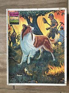 Vintage Lassie Walt Disney Whitman Puzzle 100 Piece 1981