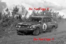 Harry Kallstram & Claes Billstam Datsun 1800 SSS Safari Rally 1973 Photograph 1