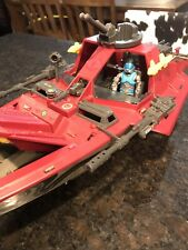 "1985 GI Joe Cobra ""MORAY"" Hydrofoil. 99% Complete. With Lamprey"
