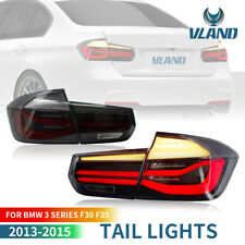 For BMW F30 LED M-Performance 2012-2015 Tail Lights LCI w/ Co Smoked Black