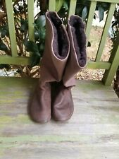 Vivobarefoot Brown Womens Boots Sz Euro 37 Us 6.5 New