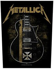 Metallica Hetfield Guitar giant sew-on backpatch   360mm x 300mm  (ro)