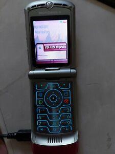 Motorola RAZR  V 3 i pink - gebraucht ,  funktioniert !
