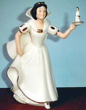 Lenox Disney SNOW WHITE Let's See What's Upstairs Figurine w/Candlestick COA New