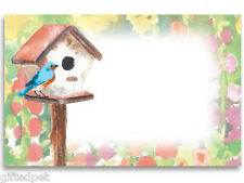 Watercolor Garden Enclosure Cards w/Envelopes