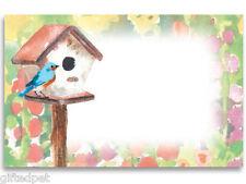 Watercolor Garden Enclosure Cards w/Envelopes