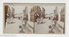 █ Vue Stéréoscopique / Stéréo : 54 NANCY SAINT NICOLAS DE PORT 1905 Felix Potin