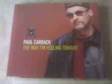 PAUL CARRACK - THE WAY I'M FEELING TONIGHT - UK PROMO CD SINGLE