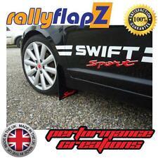 Mudflaps Suzuki Swift Sport ZC31S (05-11)Black 3mm PVC Red sport Logo Mud Flaps