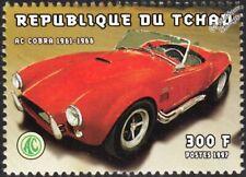 1961-1966 AC Shelby COBRA Sports Car Automobile Stamp