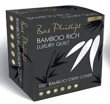 SUPER KING size Bas Phillips Bamboo Rich 300GSM All Seasons Quilt Doona NEW