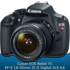 Canon EOS Rebel T5 DSLR Camera with 18-55mm  EF-S IS STM Lens