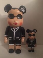 Bearbrick Luxury Lady Medicom CH Toy Be@rbrick 52cm Exclusive Black RARE!