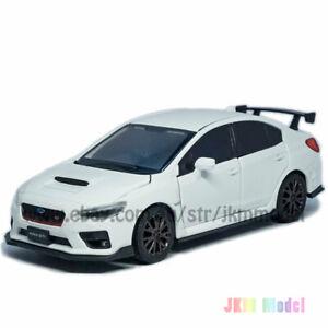 1:32 Subaru WRX STI Model Car Alloy Diecast Vehicle Collection Kids Gift White