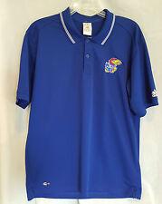 Adidas Kansas Jayhawks Polo Shirt - Medium