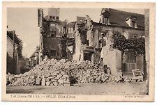 CPA 60 - SENLIS (Oise) 150. Effets d'obus - Guerre 1914-1915. Ed. Pays de France