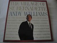 THE VILLAGE OF ST. BERNADETTE ANDY WILLIAMS VINYL LP ALBUM 1960 CADENCE RECORDS
