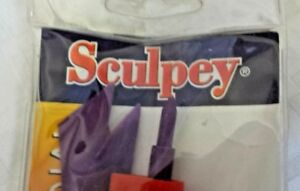 """SCULPEY ~ Polyform Clay Tool Starter Set 4/Pkg ~ ,6"""" Modeling ~ Carving ~ *New*"""