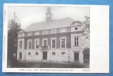 Postcard OPENED OCT 12th 1904 TOWN HALL HIGH WYCOMBE BUCKINGHAMSHIRE