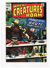 Where Creatures Roam #1 - Jack Kirby; Marvel 1970  VF-