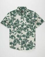 PRIMITIVE Men's S/S Button Shirt NORMANDIE PALMS - STN - Medium - NWT