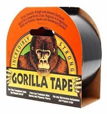 Gorilla Glue Tape - 48mm x 32M Strong Black Duct Gaffer Tape Extra Long Roll