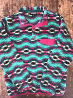 Fall 2015 VTG PATAGONIA Synchilla Snapt Fleece Pullover Women's Small