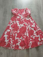 Cotton Club Strapless Dress Fully Lined Size 14