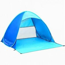 Portable Outdoor Automatic Pop Up Instant Beach Tent Sun Shelter Baby Play Tent
