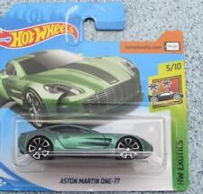 Hot Wheels 2018 # 117/365 Aston Martin One-77 Verde Hw Exotics