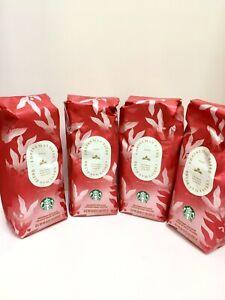 Starbucks Christmas Blend Dark Roast Whole Bean Coffee 1lb Lot Of 4 EXP4/1/21