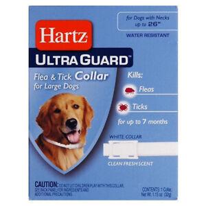 Hartz Mountain Corp Ultra Guard Flea & Tick Collar For Dogs White - 26 Inch