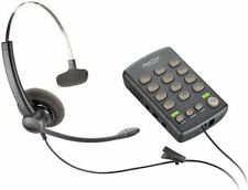 PLANTRONICS SP11 Monaural Noise-Canceling Headset + T110 Telephone Dial Key Pad