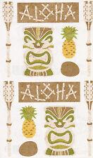 Mrs. Grossman's Giant Stickers - Hawaiin Tiki - Papier Aloha - 2 Strips