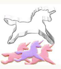 X2 Molde Cortador De Unicornio Cookies Galletas Molde de Pastelería Repostería Decoración de Pasteles