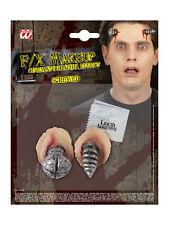 Latexapplikation Schraube Horror Karneval Halloween