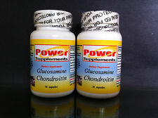 Glucosamine chondroitin+ msm arthritis, pain ~ 60 (2x30) capsules. Made in USA.