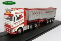 BNIB OO GAUGE OXFORD DIECAST 1:76 76VOL4004 VOLVO FH4 TIPPER WAINS TRANSPORT
