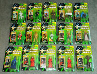 """Star Wars Lot (15) Power Of The Jedi Collection #2 2000 3.5"""" Figures NIB"""