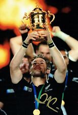 Richie McCAW Signed Autograph Photo G AFTAL COA RUGBY All Blacks New Zealand