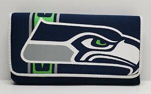 Seattle Seahawks NFL Trifold Women Wallet