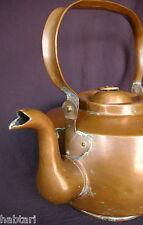 großer antiker Kupfer Wasserkessel 7 Liter ca. 1900 Wohnen Haushalt Dekoration