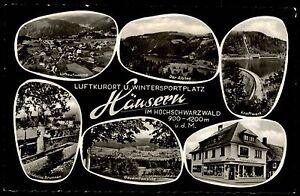 Häusern Schwarzwald Mehrbildkarte 1960 Albsee Kraftwerk Fridolins Brunnen Totale