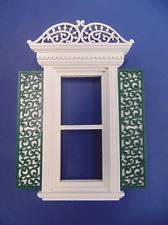 Dollhouse Miniature 1:12 window and door trim