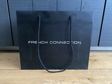 French Connection Black Small Shopping Carry Bag