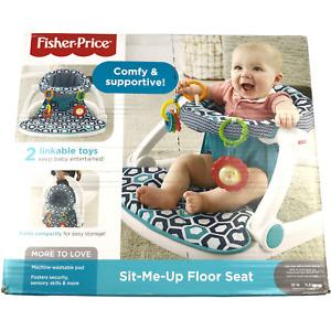 Fisher-Price Sit-Me-Up Floor Seat Exclusive Honeycomb, New